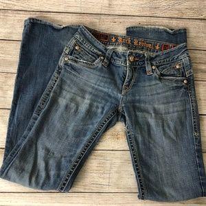 Rock Revival Jeans - Rock Revival sz 29 Gwen Boot Cut Jeans Flat Front